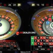 St Vincent's Double Wheel Roulette