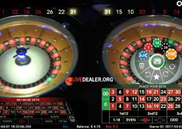 St Vincent's Double Wheel Roulette