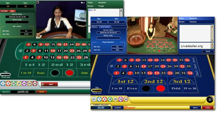 playtech live roulette circa 2009