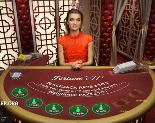 Live dealer Maryana