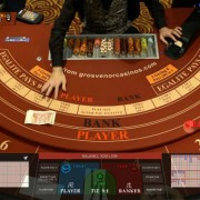 Llive Baccarat from the Victoria Casino in London