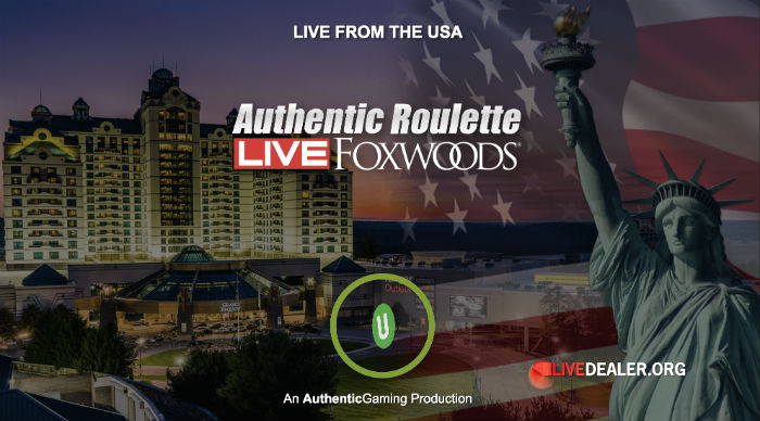 Roulette live from the USA