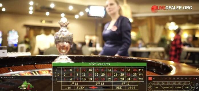 Shangri La Casino Live Roulette