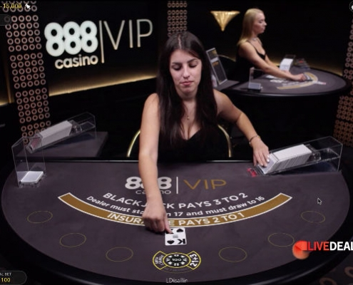 888 Salon Prive Blackjack
