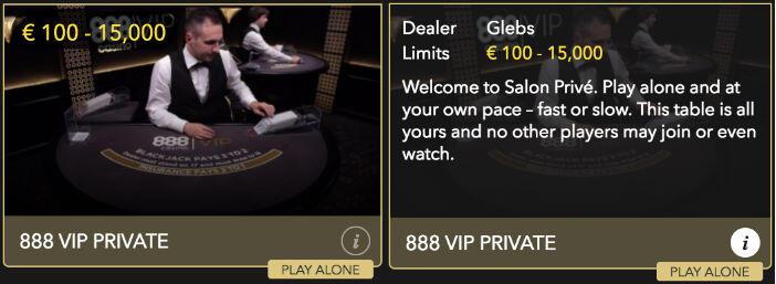 888 Private VIP