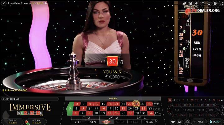 €3000 Roulette Win