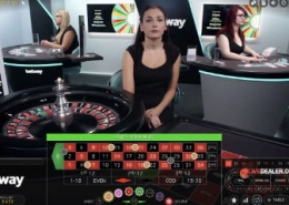 betway live roulette video
