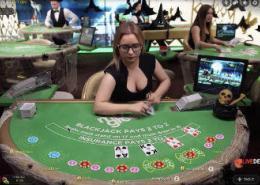 mr green blackjack video