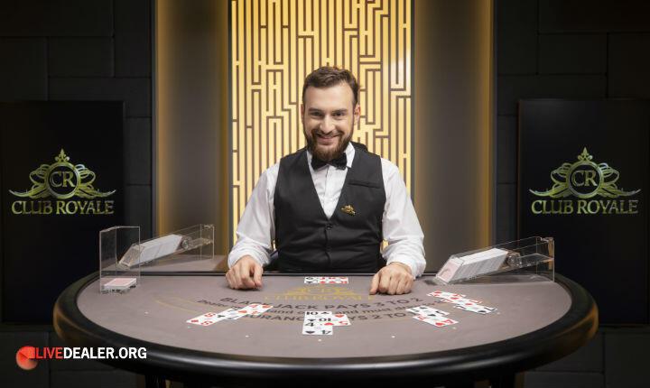 Mr Green Club Royale Blackjack 3