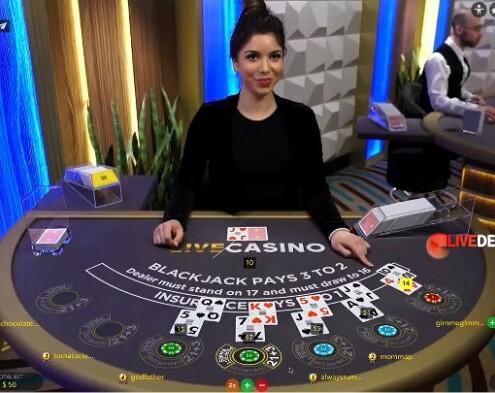Evolution Gaming Canada studio blackjack