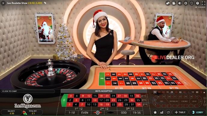 Christmas at Leo Vegas