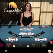 Playtech Casino Stud Poker dealer win