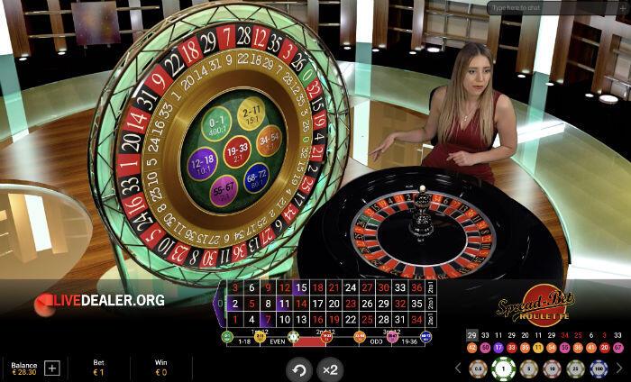 Spread Bet Roulette wheels locked