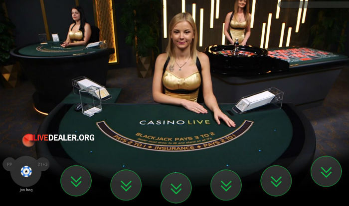 Casino Live at Paddy Power and Betfair
