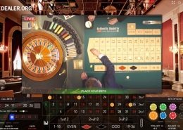 Bad Homburg Roulette placebets