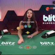 blitz blackjack placebets