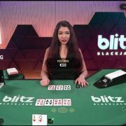 blitz blackjack win