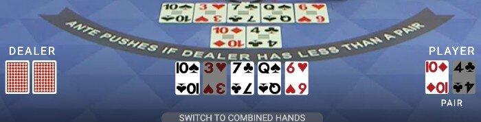 hand presentation default