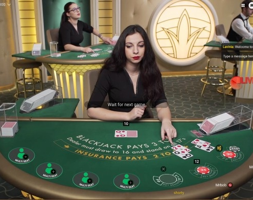pragmatic play blackjack