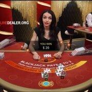 speed blackjack win