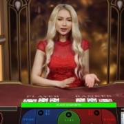 evolution lightning baccarat video