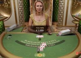evolution salon prive blackjack video