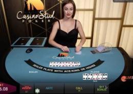 playtech casino stud poker video