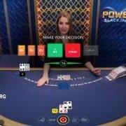 power blackjack decision