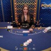 power blackjack win