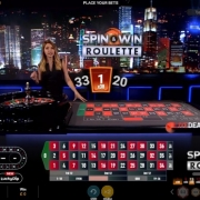 spin and win roulette result