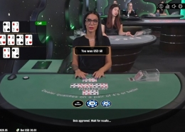 vivo casino holdem win