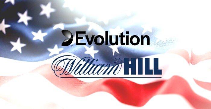 Evolution william hill in the US
