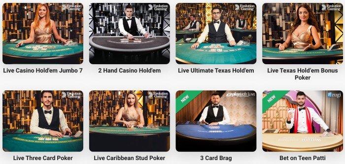 playtech poker @leovegas