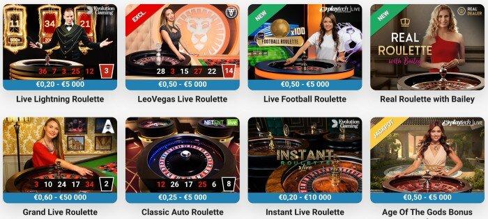 playtech roulette @leovegas