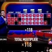Mega Blaze Roulette multiplier