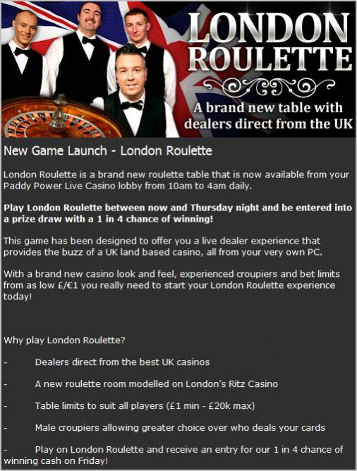 Click image for larger version.  Name:PaddyPoweraddslondonroulette.jpg Views:927 Size:70.0 KB ID:129