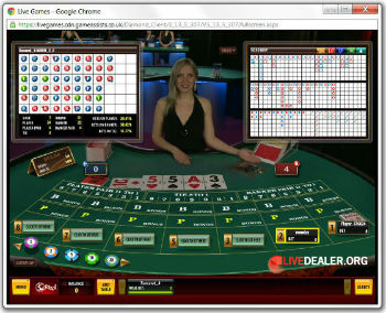 32Red live baccarat