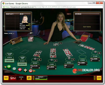 32Red live blackjack
