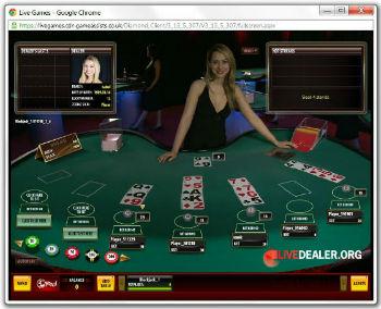 32Red live blackjack