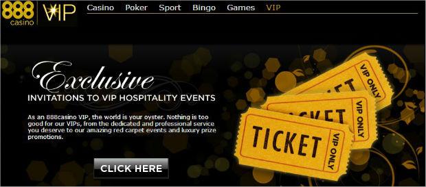 888 casino vip clubs
