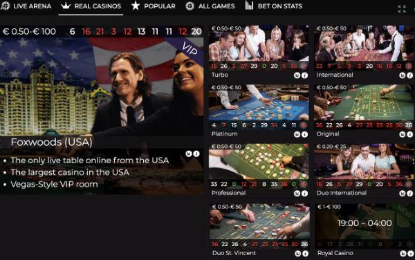 Authentic Gaming Casino Lobby