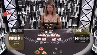Evolution Gaming 2 Hand Casino Hold'em