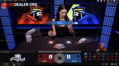 Live Casino Clash at 888