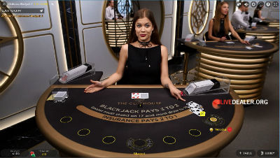 The Club House Blackjack at Bwin