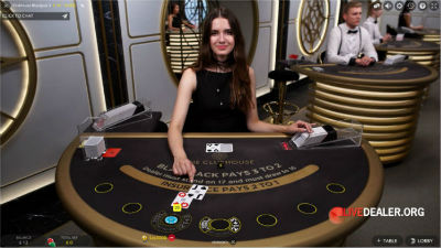 Party Casino live blackjack