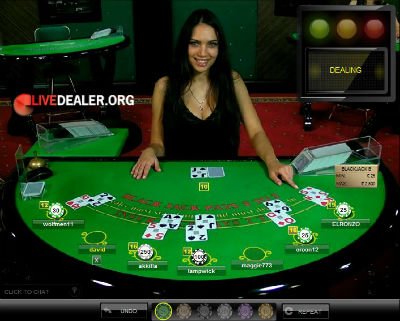 Party Casino live blackjack