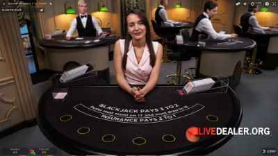 SuperCasino live blackjack