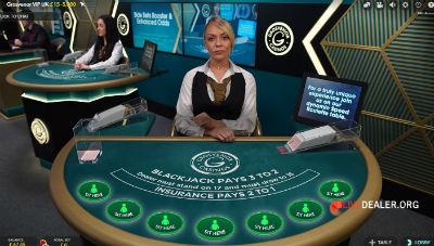 Grosvenor live blackjack