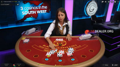 Grosvenor live blackjack