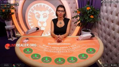 LeoVegas (Evolution)  live blackjack